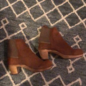 Sanita clog boots